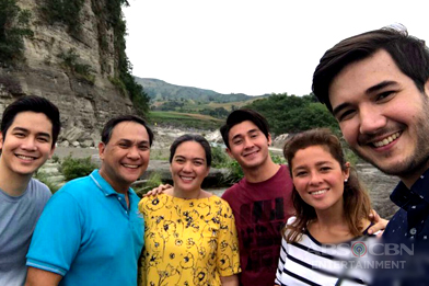 Behind-The-Scenes: Bonding moments ng TGL cast sa Bagong Ilog!
