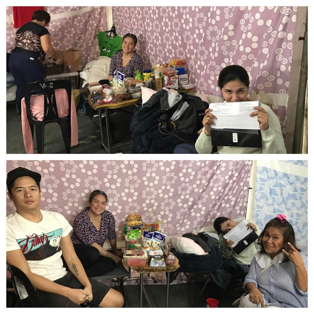 Behind-The-Scene photos of 'The Greatest Love'