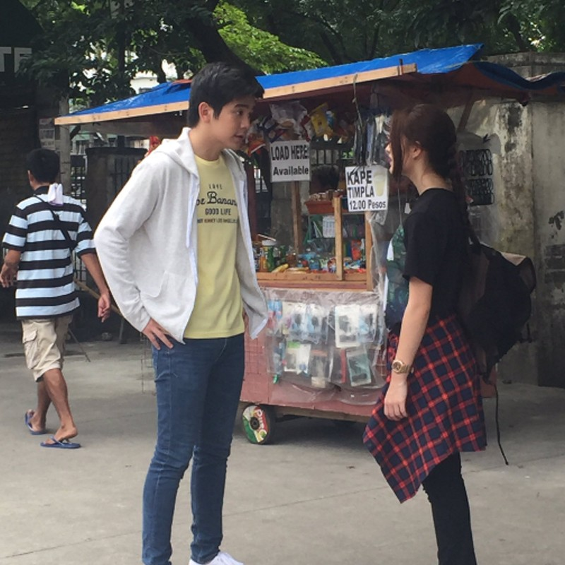 Behind-The-Scenes: 10 Kilig photos of Y & Z that might help us find the formula for love!