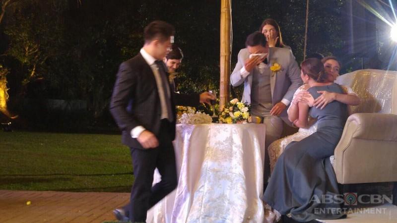 BEHIND-THE-SCENES: Peter & Gloria's wedding reception
